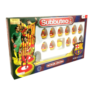 Subbuteo Team Box FC Barcelona 2º Equipación
