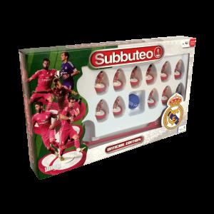 Subbuteo Team Box Real Madrid 2º Equipación