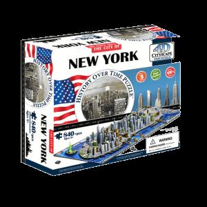 Puzzle 4D Cityscape Nueva York