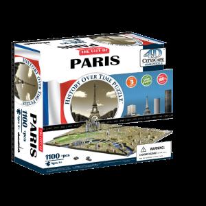 Puzzle 4D Cityscape París
