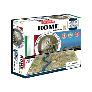 Puzzle 4D Cityscape Roma