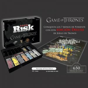 Risk Juego de Tronos Edición Deluxe Contenido Caja