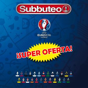 Subbuteo Pack Selecciones EURO 2016