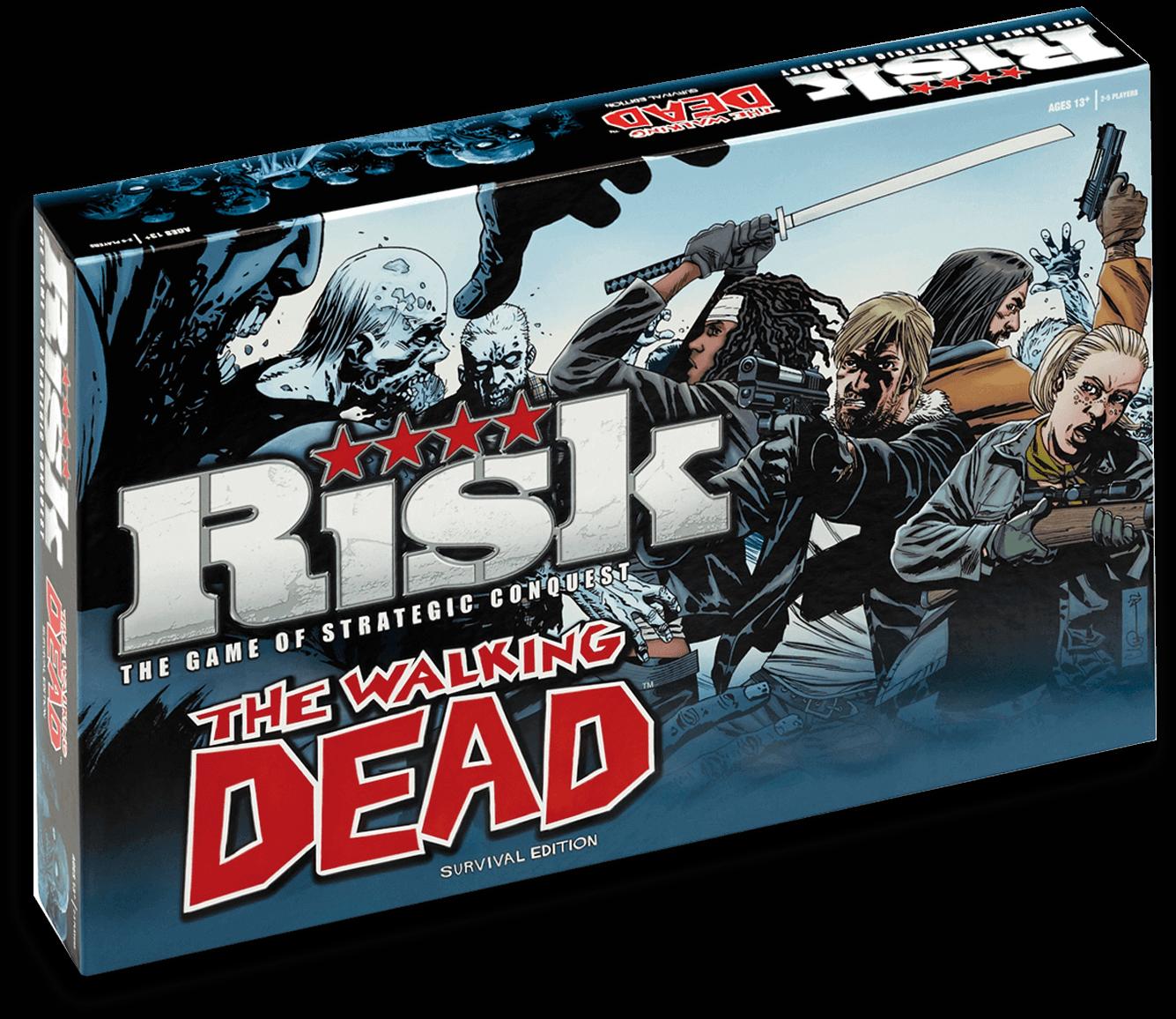Caja Risk The Walking Dead